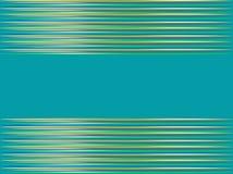 Абстрактная голубая предпосылка с горизонтальными нашивками Стоковое Изображение