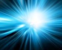 Абстрактная голубая предпосылка Стоковые Фотографии RF