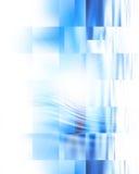 Абстрактная голубая предпосылка Стоковое Изображение