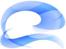 абстрактная голубая текстура Стоковые Фото