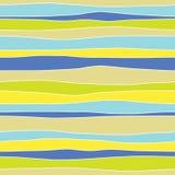 Абстрактная горизонтальная красочная безшовная картина Стоковые Фото