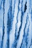 Абстрактная голубая акварель на бумажной текстуре как предпосылка Christm Стоковые Фото