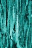 Абстрактная голубая акварель на бумажной текстуре как предпосылка Christm Стоковые Фотографии RF