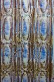 Абстрактная голубая вертикаль картины Стоковые Изображения RF