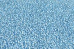 Абстрактная голубая вода бассейна Стоковые Изображения RF