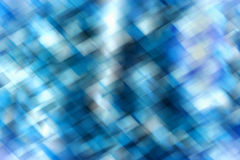 Абстрактная голубая геометрическая предпосылка Стоковая Фотография