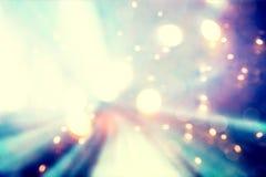 Абстрактная голубая и фиолетовая светлая предпосылка Стоковые Изображения