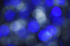 Абстрактная голубая предпосылка белого рождества Стоковое Изображение RF