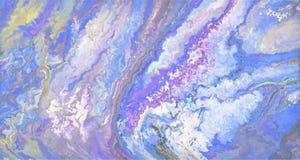 Абстрактная голубая предпосылка градиента вектора Стоковая Фотография