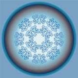 Абстрактная голубая предпосылка Стоковая Фотография