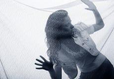 абстрактная девушка Стоковые Изображения