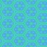 Абстрактная декоративная геометрическая предпосылка Безшовное красочное patt Стоковое Изображение