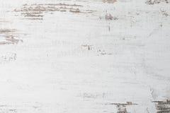Абстрактная деревенская поверхностная белая деревянная предпосылка текстуры таблицы Закройте вверх деревенской стены сделанной бе стоковая фотография rf