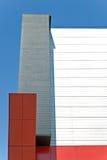 Абстрактная деталь самомоднейшего здания Стоковые Изображения