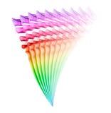 Абстрактная диаграмма дыма Стоковые Изображения RF