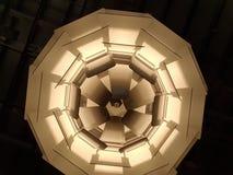 Абстрактная диаграмма округлой формы бежевые коричневые тоны Стоковая Фотография RF