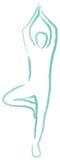 абстрактная диаграмма человек Стоковое фото RF