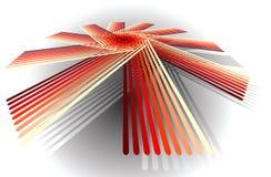 абстрактная диаграмма Стоковая Фотография