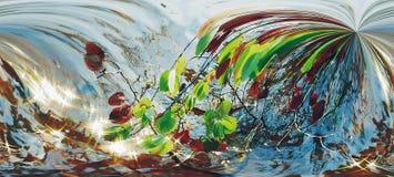 абстрактная диаграмма multicolor картины Стоковая Фотография RF