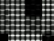 Абстрактная динамическая геометрическая современная monochrome предпосылка Стоковые Фотографии RF