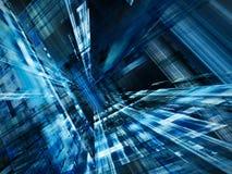 Абстрактная динамически голубая текстура Стоковые Фото