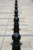 абстрактная дорожка взгляда барьера Стоковое Изображение