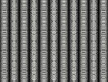 Абстрактная, декоративная предпосылка цилиндров Стоковое Изображение RF