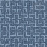 Абстрактная декоративная текстура - безшовная картина, ткань голубых джинсов бесплатная иллюстрация