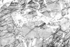 Абстрактная естественная мраморная темнота - серая предпосылка текстуры Стоковые Фото