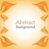 Абстрактная естественная предпосылка с абстрактными крылами бабочки Стоковое Фото
