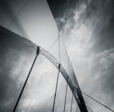 Абстрактная деталь моста стоковые изображения rf