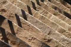 Абстрактная деталь фото лестниц контраста Стоковое фото RF