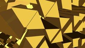 Абстрактная желтая и коричневая предпосылка Стоковые Изображения RF