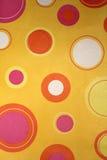 Абстрактная желтая предпосылка Стоковые Изображения