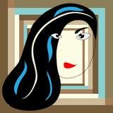 Абстрактная женщина Стоковая Фотография