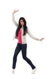 абстрактная женщина inc иллюстрации танцы стоковое изображение