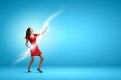 абстрактная женщина inc иллюстрации танцы стоковое фото rf