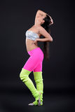 абстрактная женщина inc иллюстрации танцы стоковое изображение rf