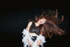 абстрактная женщина inc иллюстрации танцы стоковые фотографии rf