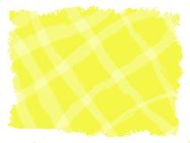 Абстрактная желтая предпосылка с чертежом решетки Стоковая Фотография