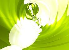 абстрактная жидкая волна картины иллюстрации Стоковые Фото