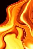 абстрактная жидкость золота Стоковое Изображение RF