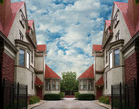 Абстрактная жилищная единица Стоковое Изображение RF