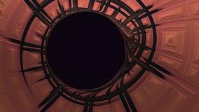 Абстрактная закручивая в спираль текстура с круговым космосом экземпляра бесплатная иллюстрация