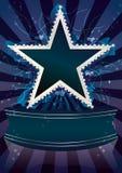 абстрактная звезда жидкости eps диаманта Стоковые Фотографии RF