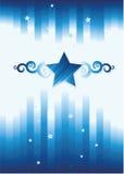 абстрактная звезда предпосылки Стоковые Фотографии RF