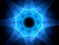 абстрактная звезда фрактали конструкции предпосылки бесплатная иллюстрация