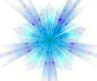 абстрактная звезда de фрактали Стоковая Фотография