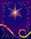 абстрактная звезда праздника предпосылки Стоковая Фотография