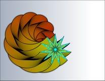 абстрактная звезда Стоковая Фотография